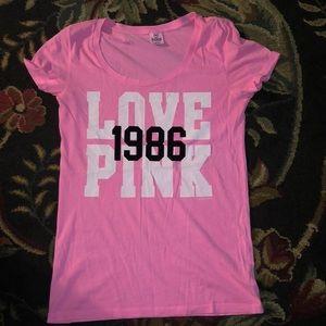 pink PINK shirt